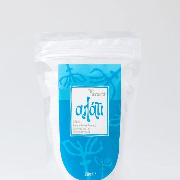 Φυσικό θαλασσινό αλάτι με μαντζουράνα και λιαστό ντοματάκι