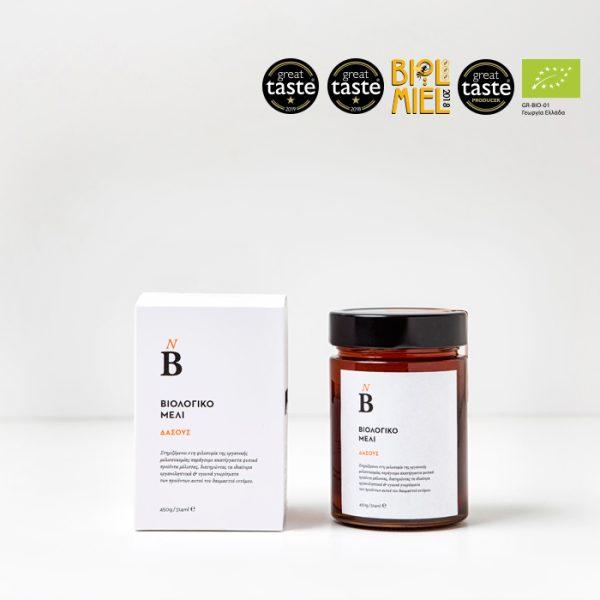 Βιολογικό μέλι Ερείκης 450gr