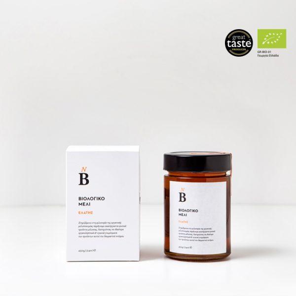 Βιολογικό μέλι Δάσους 450gr